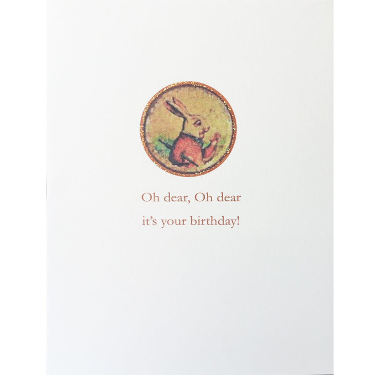Greeting Card Oh Dear Birthday - Lumia Designs
