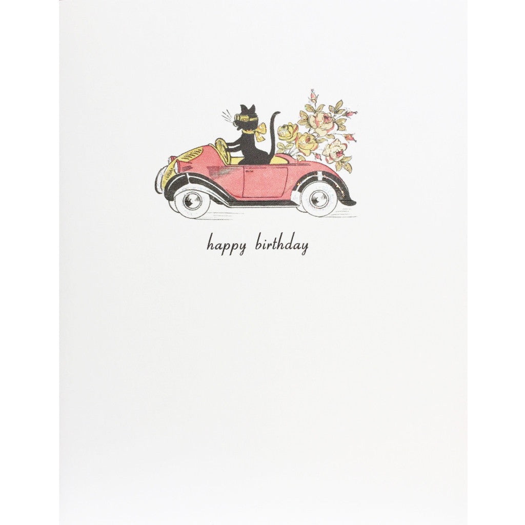 Cute Cat Birthday Card Lumia Designs