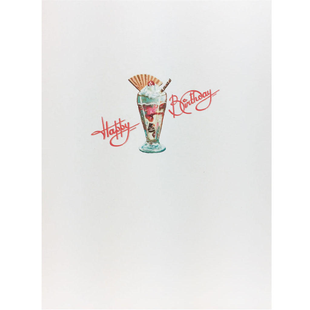 Sundae Birthday Card