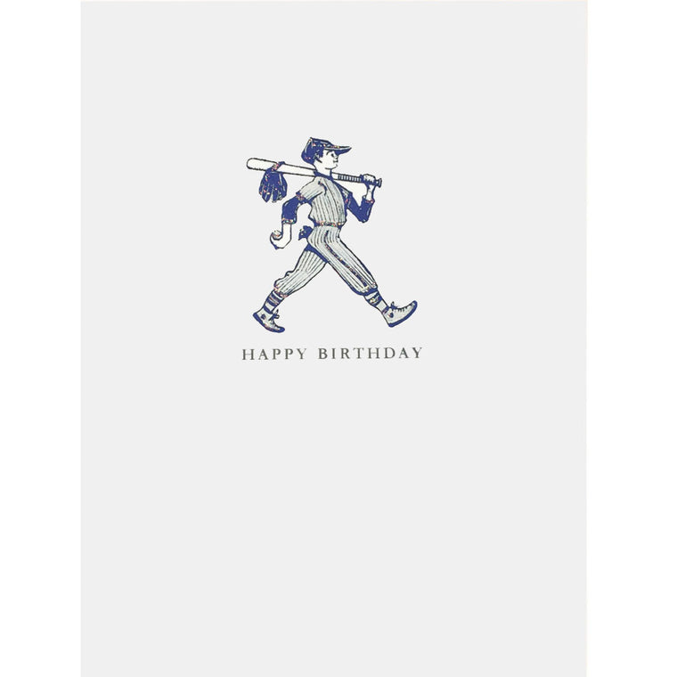 Baseball Boy Birthday Card - Lumia Designs