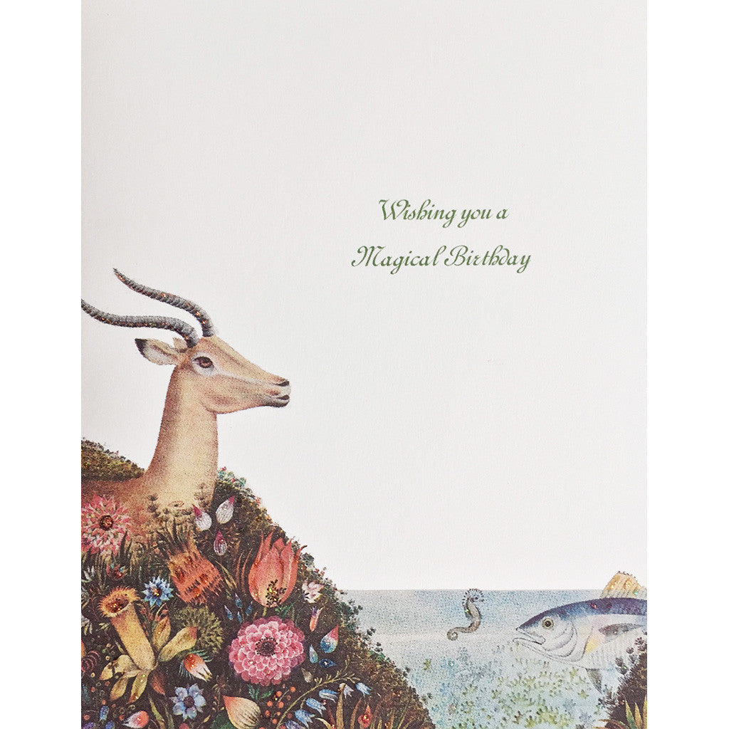 Greeting Card Magical Birthday - Lumia Designs