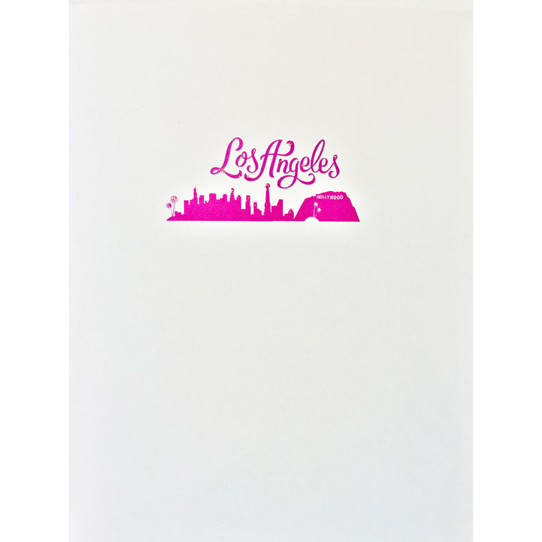 Greeting Card Los Angeles - Lumia Designs