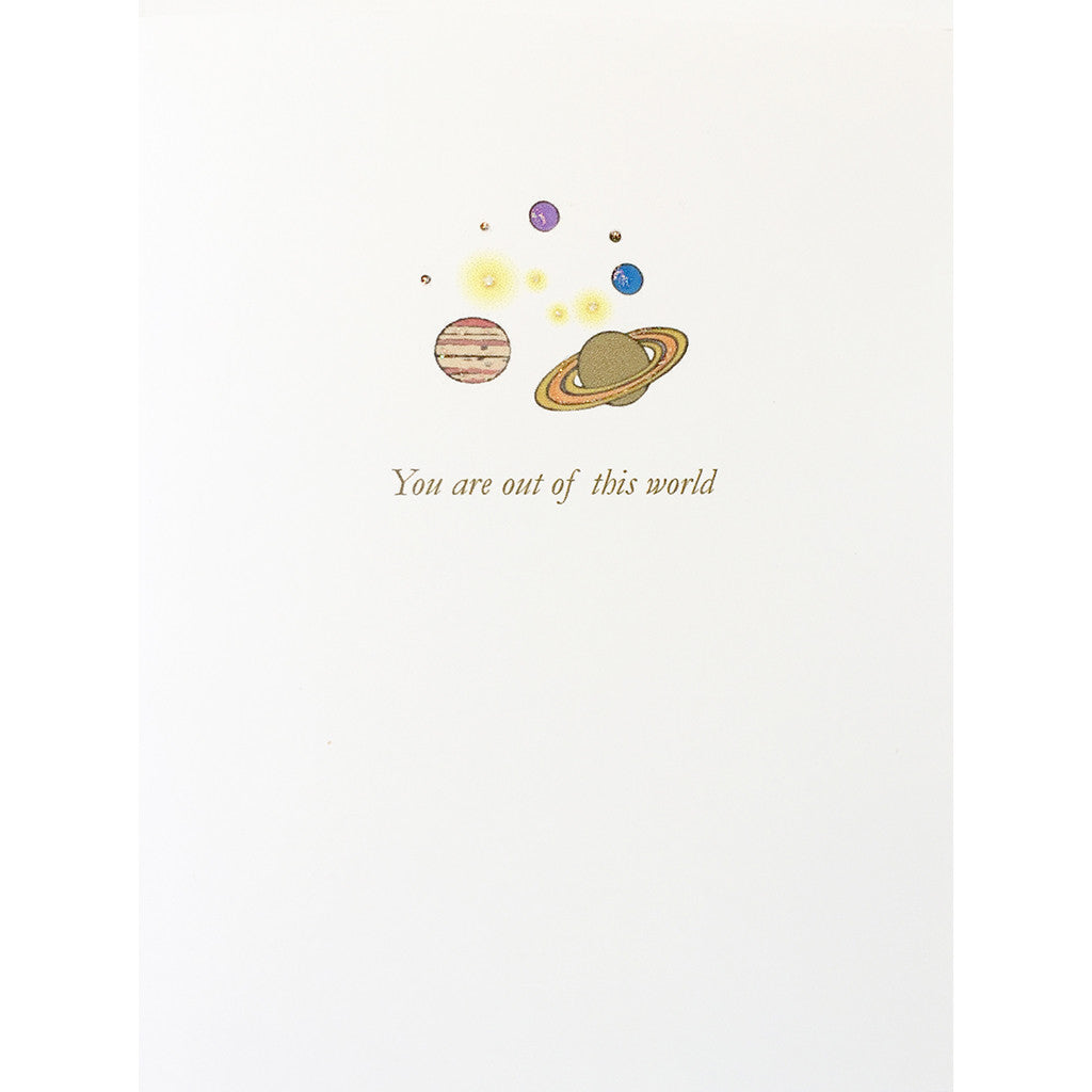 Greeting Card Out of This World - Lumia Designs