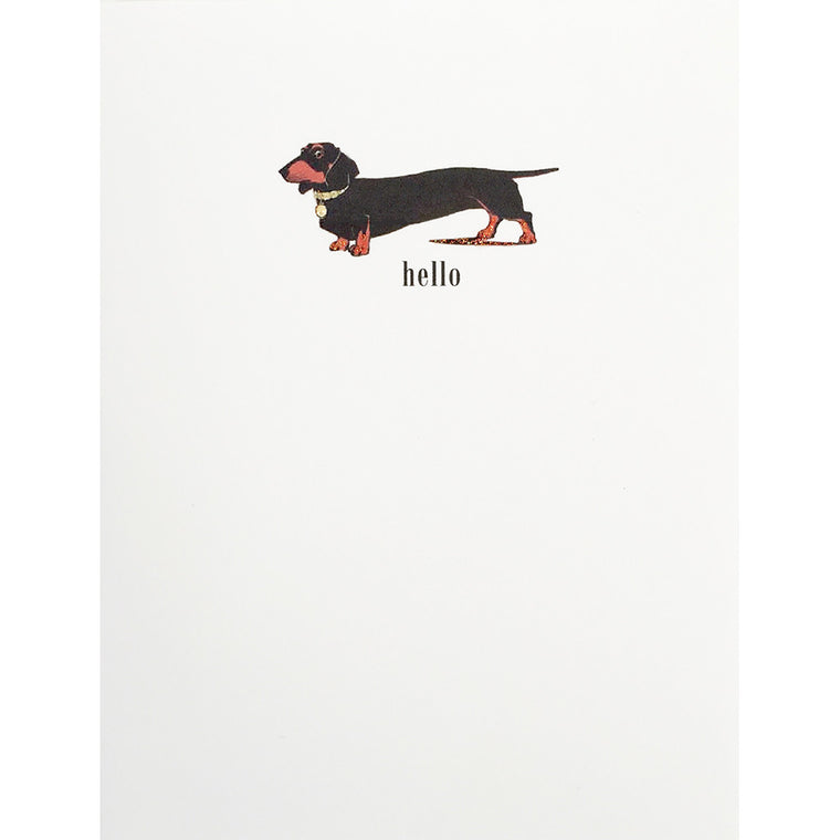 Greeting Card Hot Dog - Lumia Designs