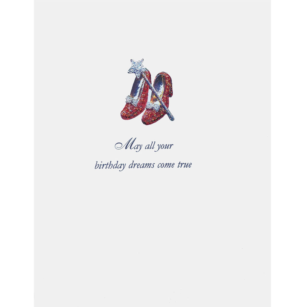 Ruby Slippers Card. Lumia Designs