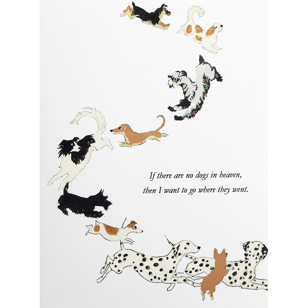 Greeting Card Dog Heaven - Lumia Designs
