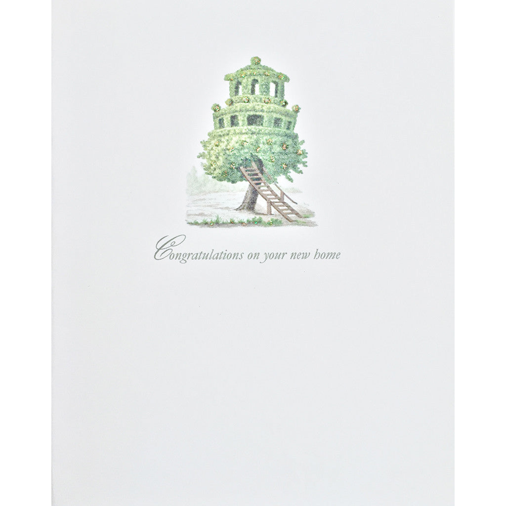 Greeting Card New Home Treehouse - Lumia Designs