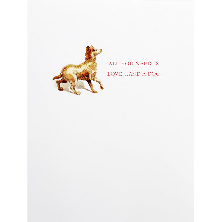 Greeting Card Dog Lover - Lumia Designs