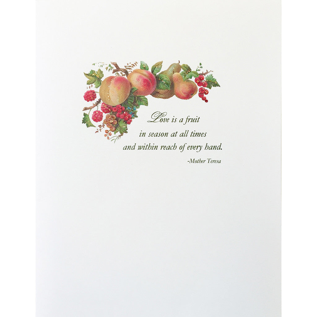 Greeting Card Love Fruit - Lumia Designs