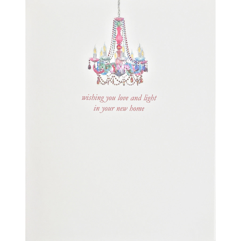 Greeting Card Boho Light New Home - Lumia Designs