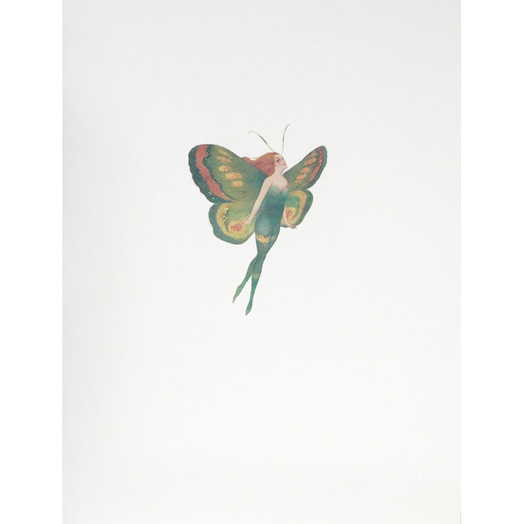 Greeting Card Butterfly Woman - Lumia Designs