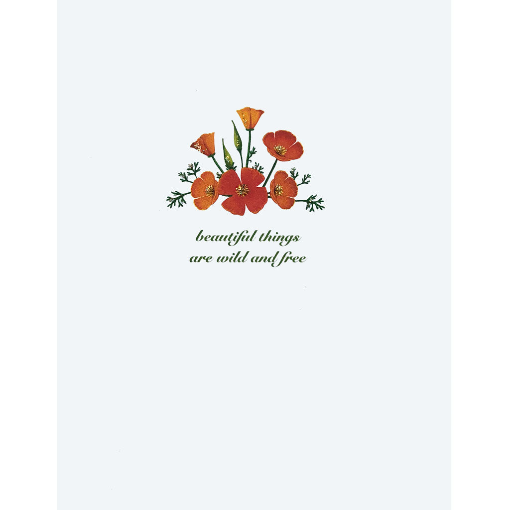 Poppies Greeting Card. Lumia Designs