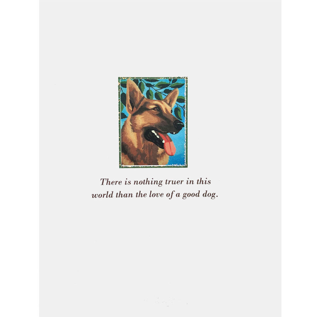 Dog greeting Card. Lumia Designs