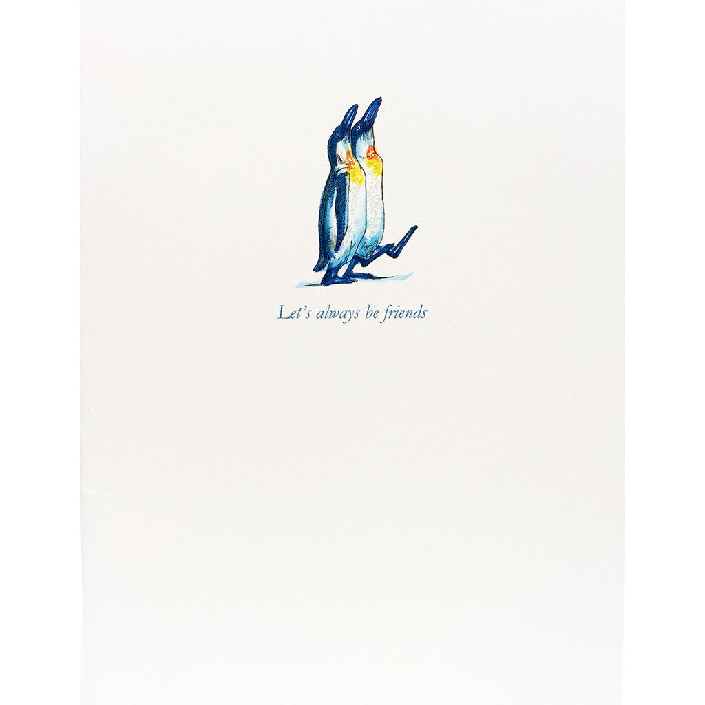 Greeting Card Penguin Friends - Lumia Designs