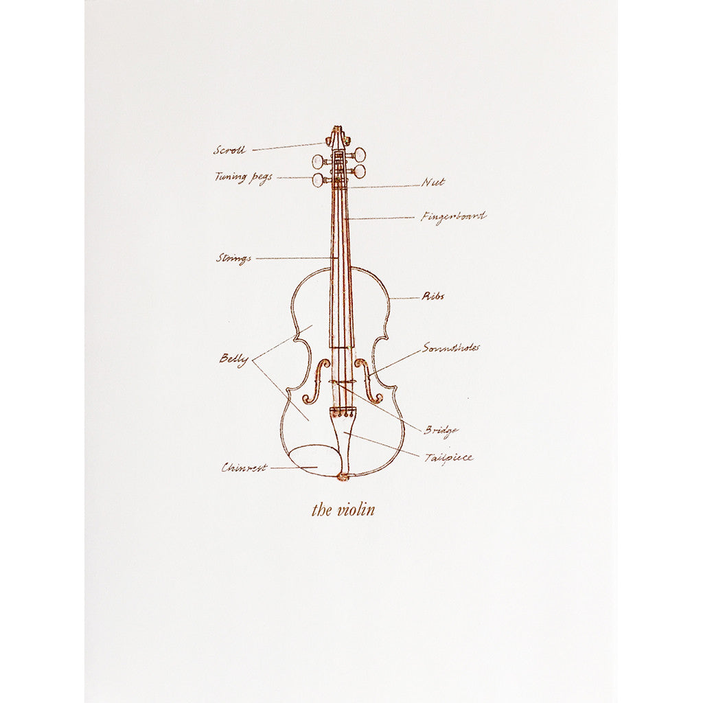 Greeting Card Violin parts - Lumia Designs
