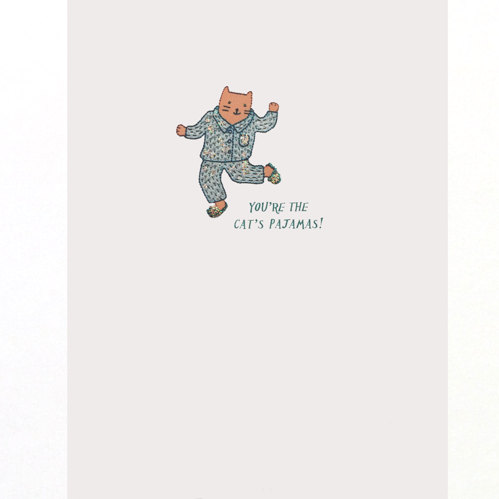 Cat's Pajamas Everyday Card