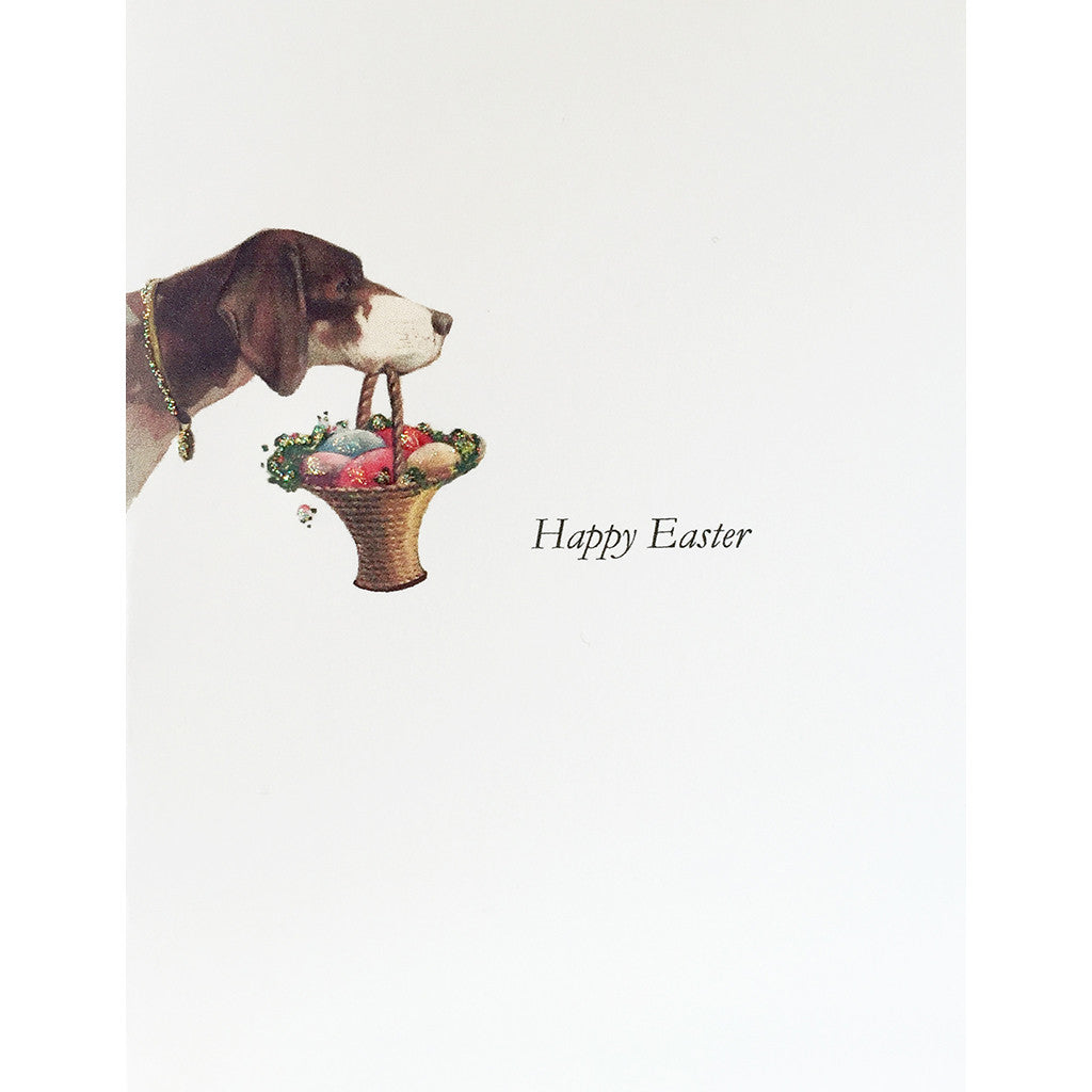 Greeting Card Dog Easter - Lumia Designs