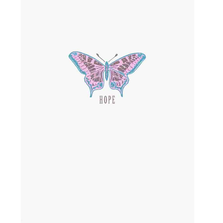 Butterfly Hope Greeting Card