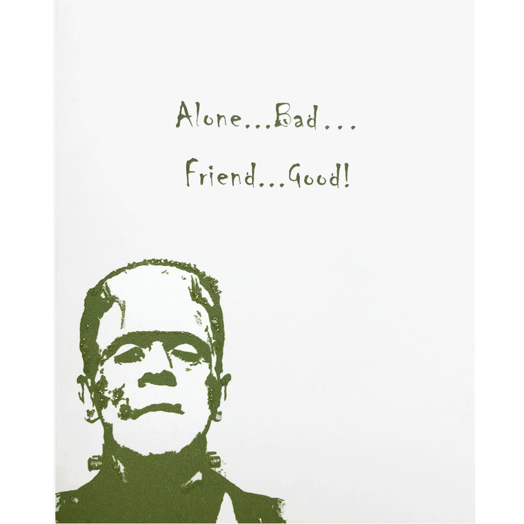Frankenstein Monster Card