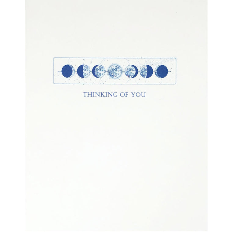 Moon Phases-Thinking Of You Card