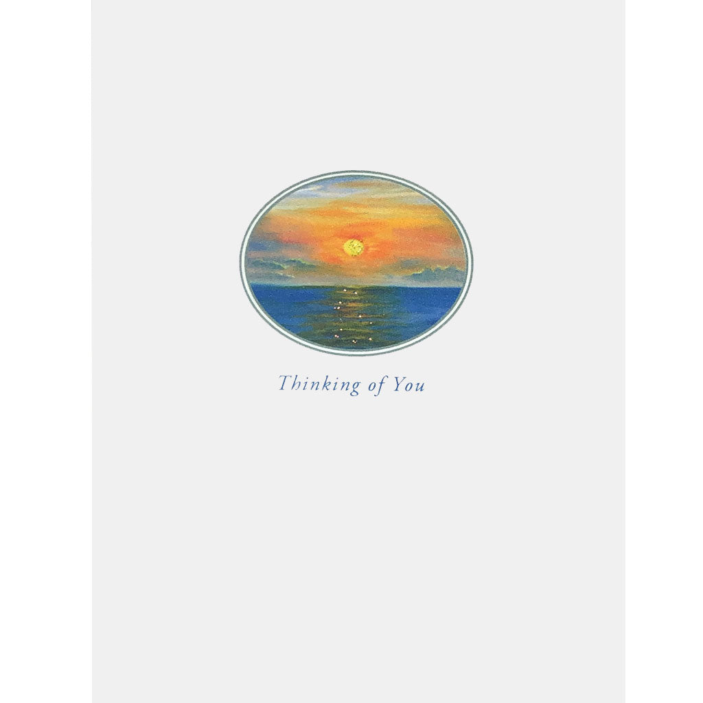 Sunset Thinking of You Card