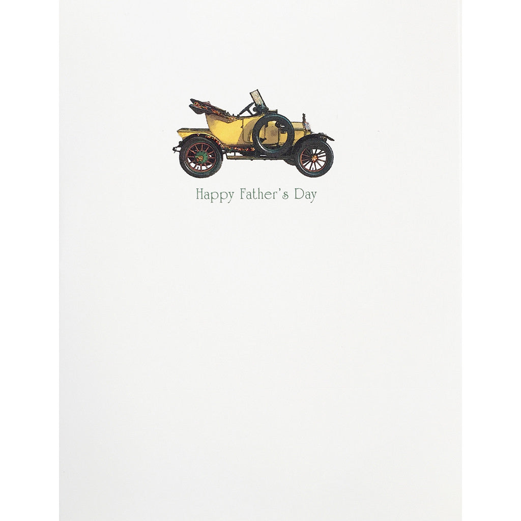 Greeting Card Vintage Car Father's Day - Lumia Designs