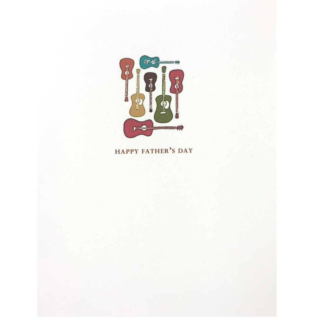 Guitars Father's Day Card