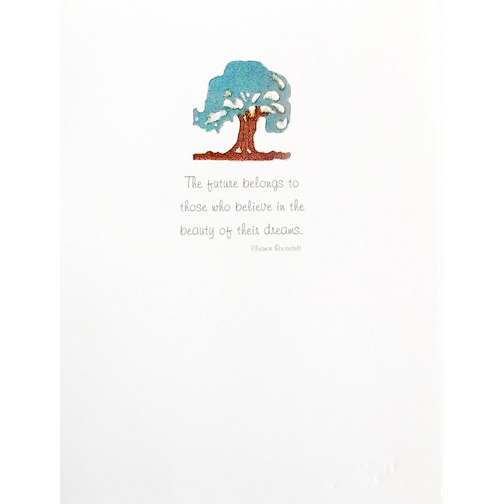 Greeting Card Oak Tree Dreams - Lumia Designs