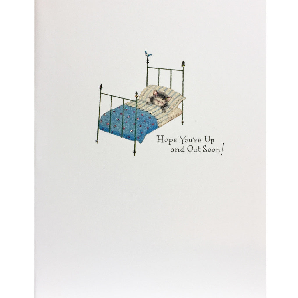 Kitty Get Well Card