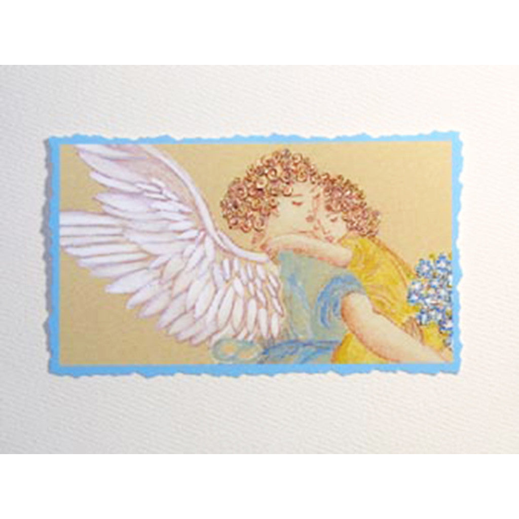 Greeting Card Guardian Angel - Lumia Designs