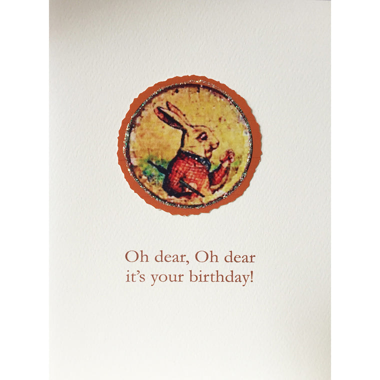 Oh Dear Birthday Card - Lumia Designs