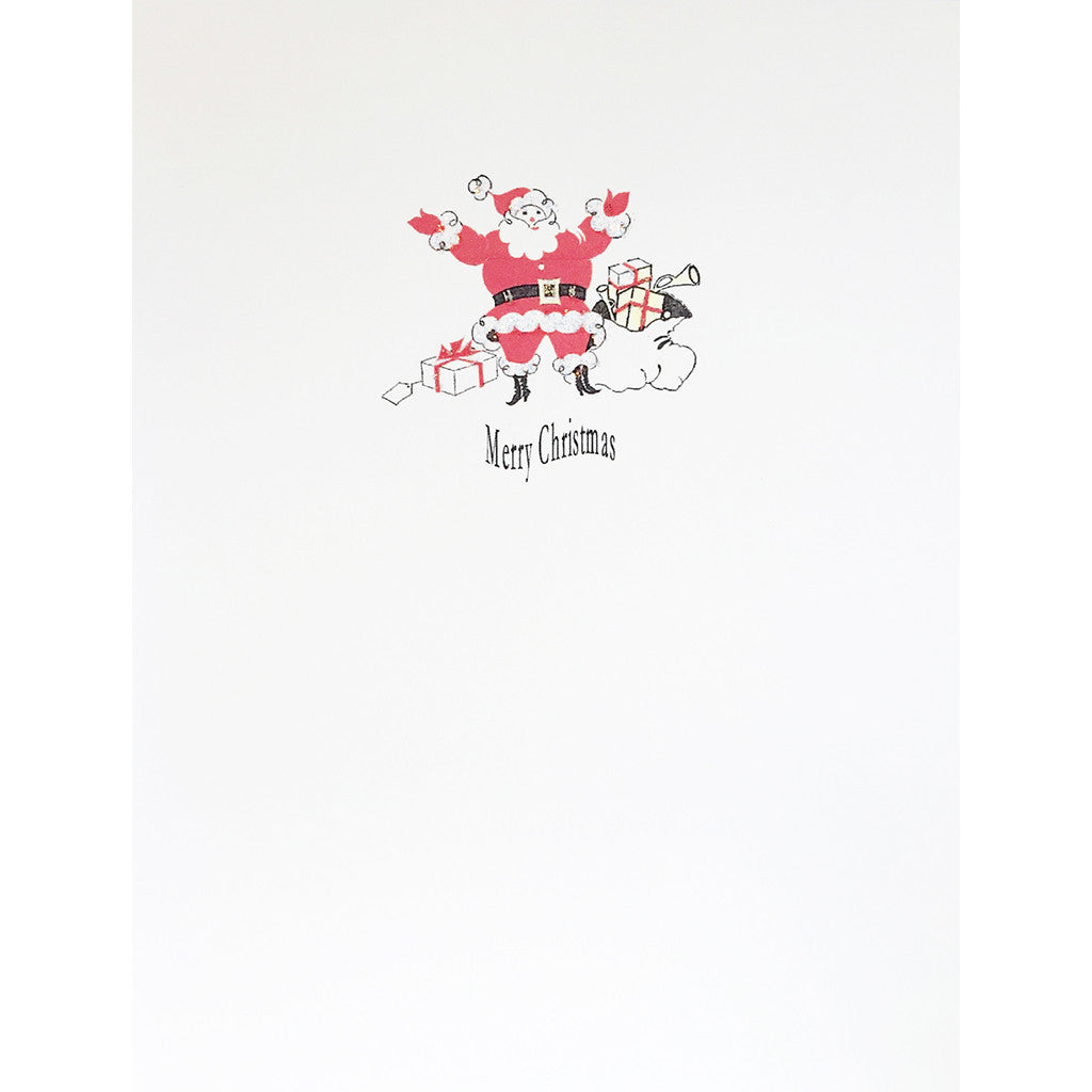 Greeting Card Ho Ho Santa - Lumia Designs