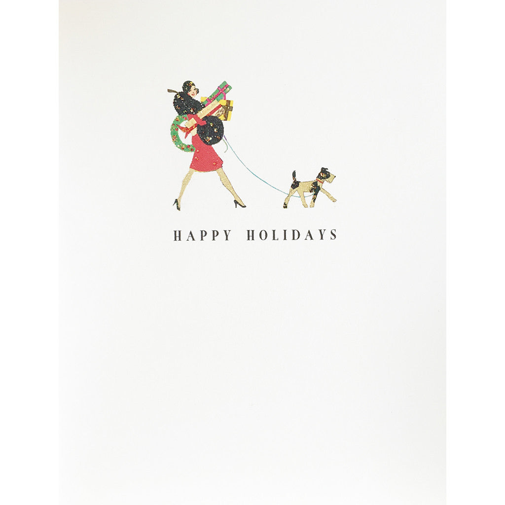 Greeting Card Holiday Shoppers - Lumia Designs
