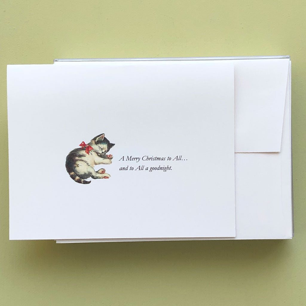 Kitten Christmas Boxed Cards