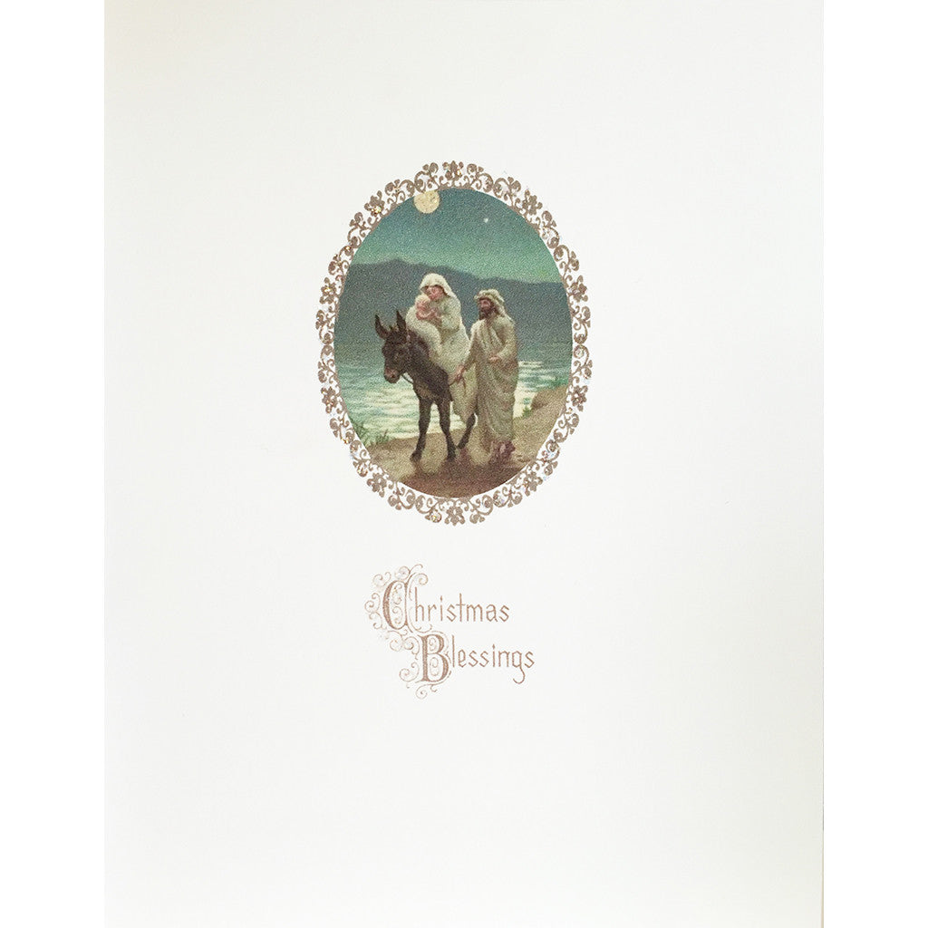 Greeting Card Flight into Egypt - Lumia Designs