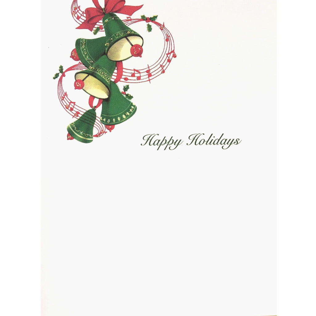 Green Bells Holiday Card