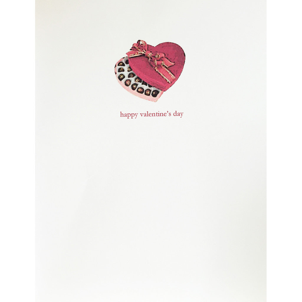 Greeting Card Candy Box Valentine's - Lumia Designs