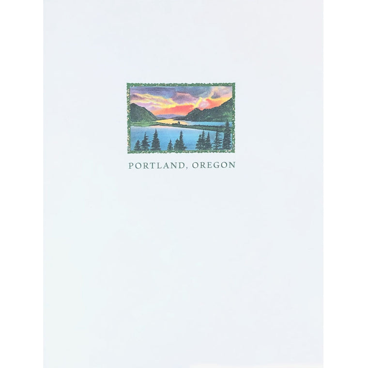 Portland Oregon Card