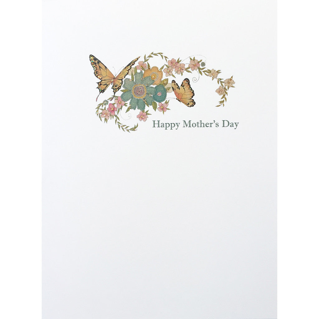 Greeting Card Butterflies Pastel - Lumia Designs