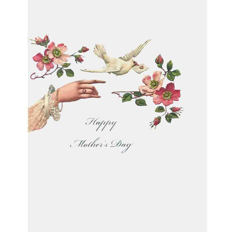 Hand Dove Mother's Day Card