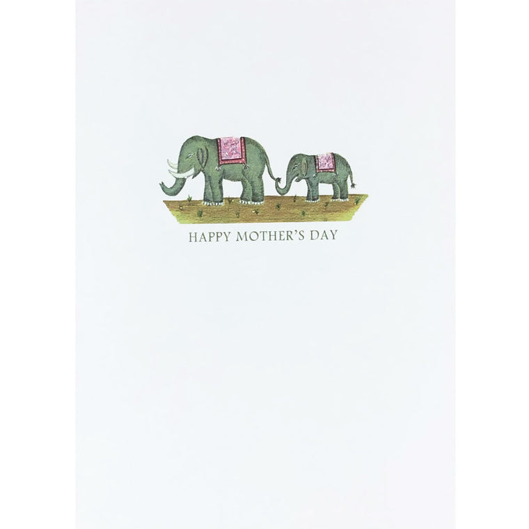 Elephant's Mother's Day Card