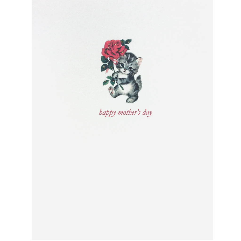 Kitty Rose Mother's Card