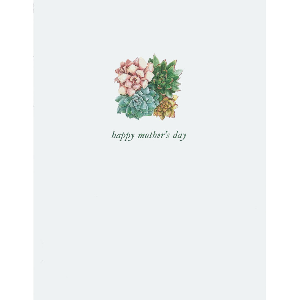 Succulent Mother's Day Card Lumia Designs