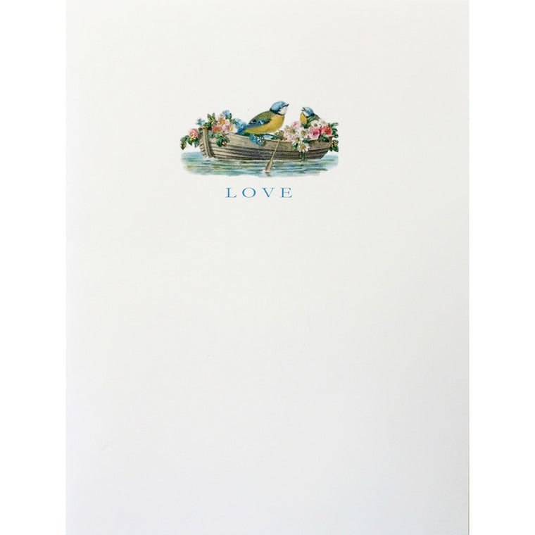 Greeting Card Love Birds - Lumia Designs