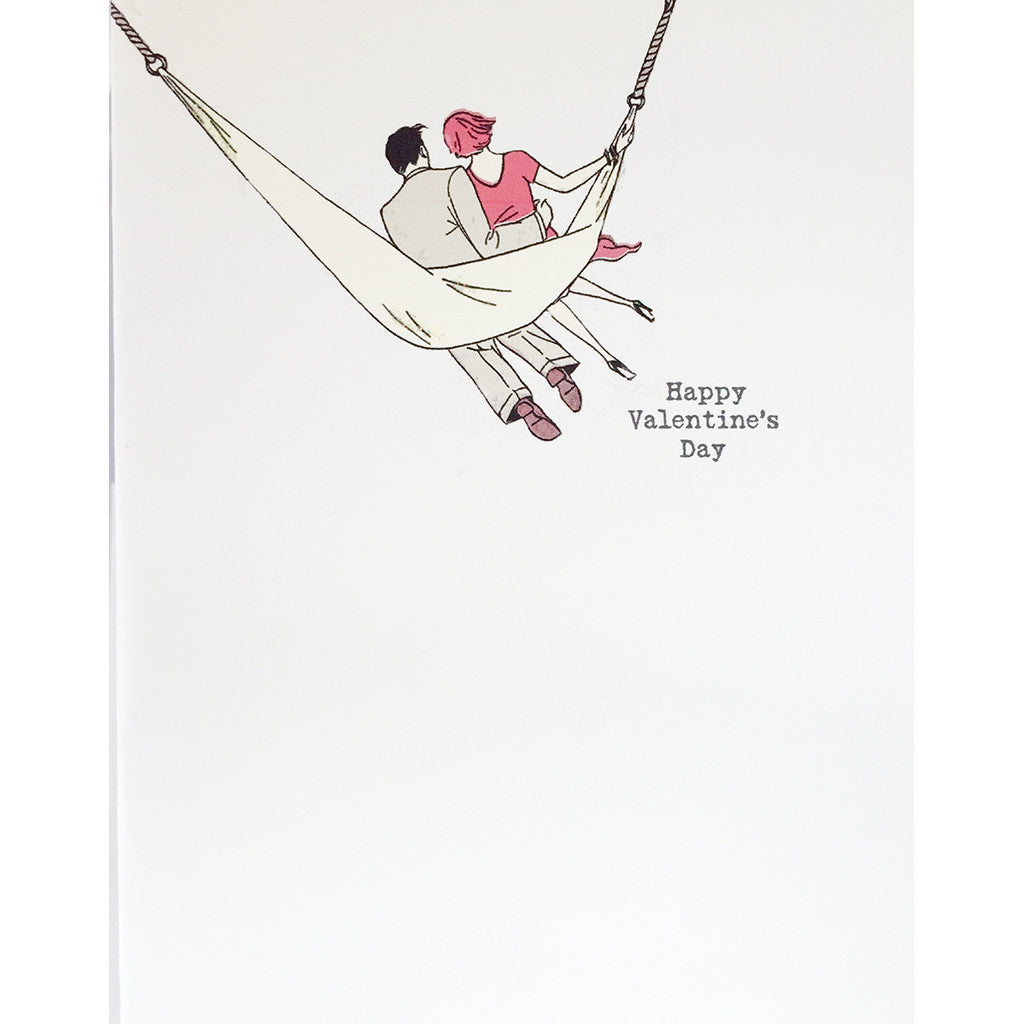 Greeting Card Hammock Valentine's Day - Lumia Designs