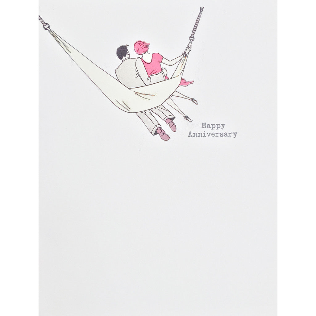 Greeting Card Hammock Anniversary - Lumia Designs