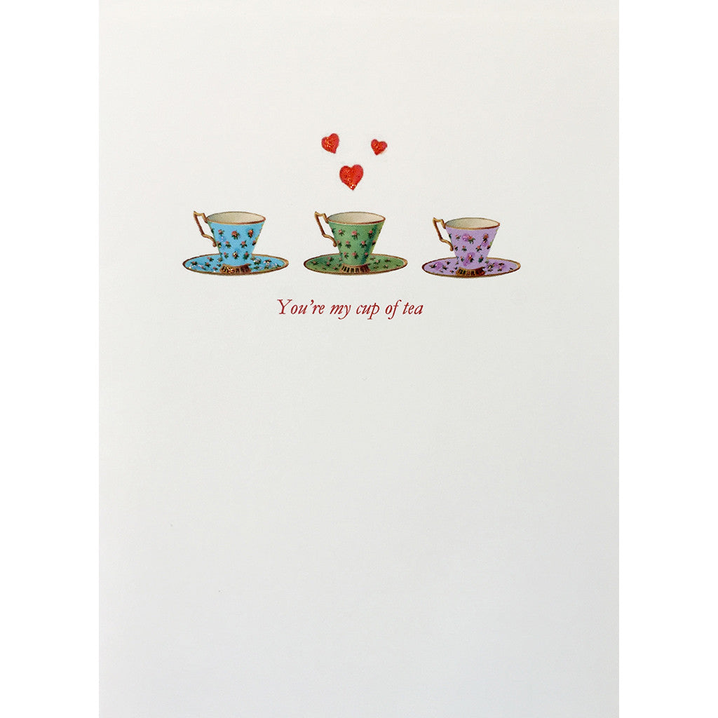 Greeting Card Cup of Tea - Lumia Designs