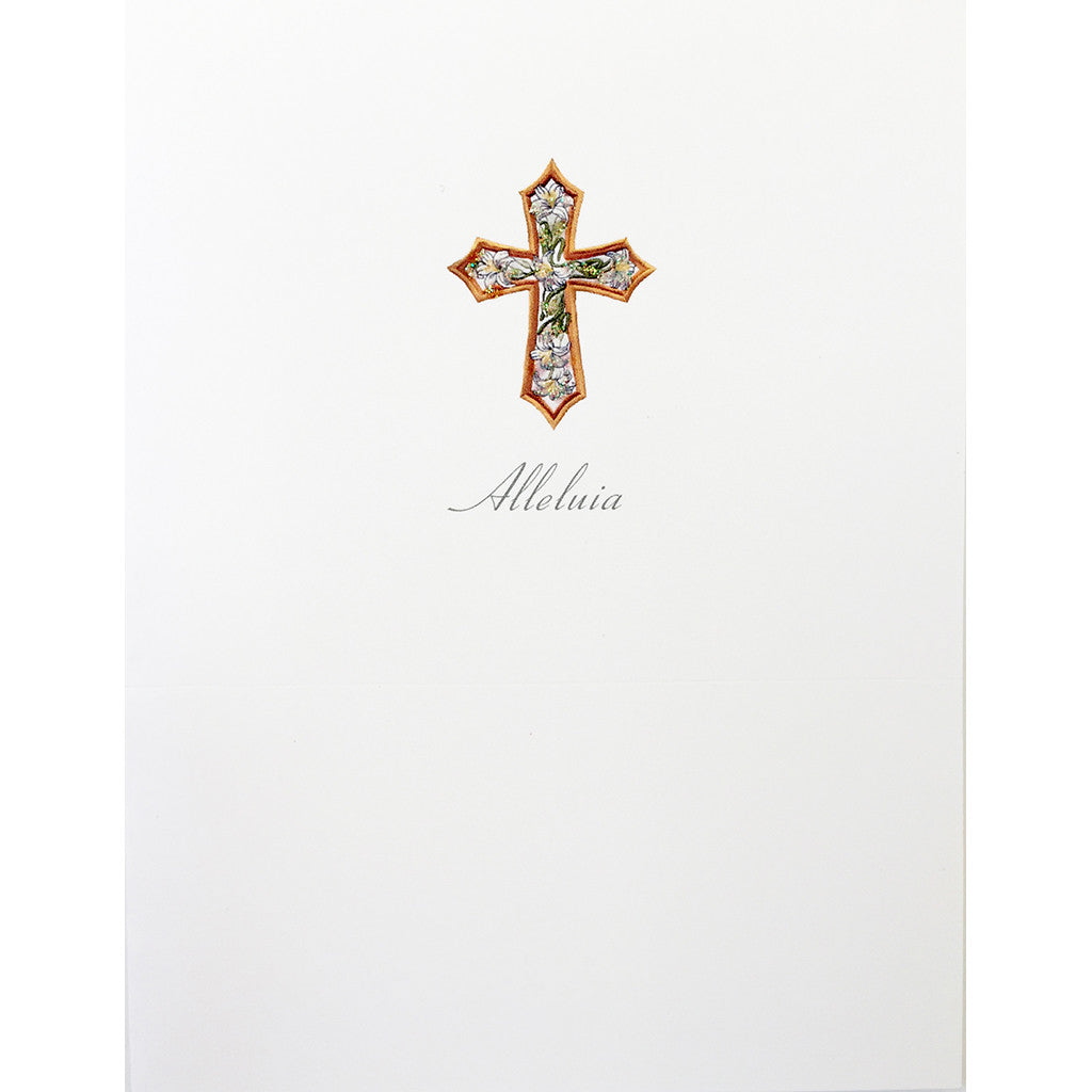 Greeting Card Alleluja Cross - Lumia Designs