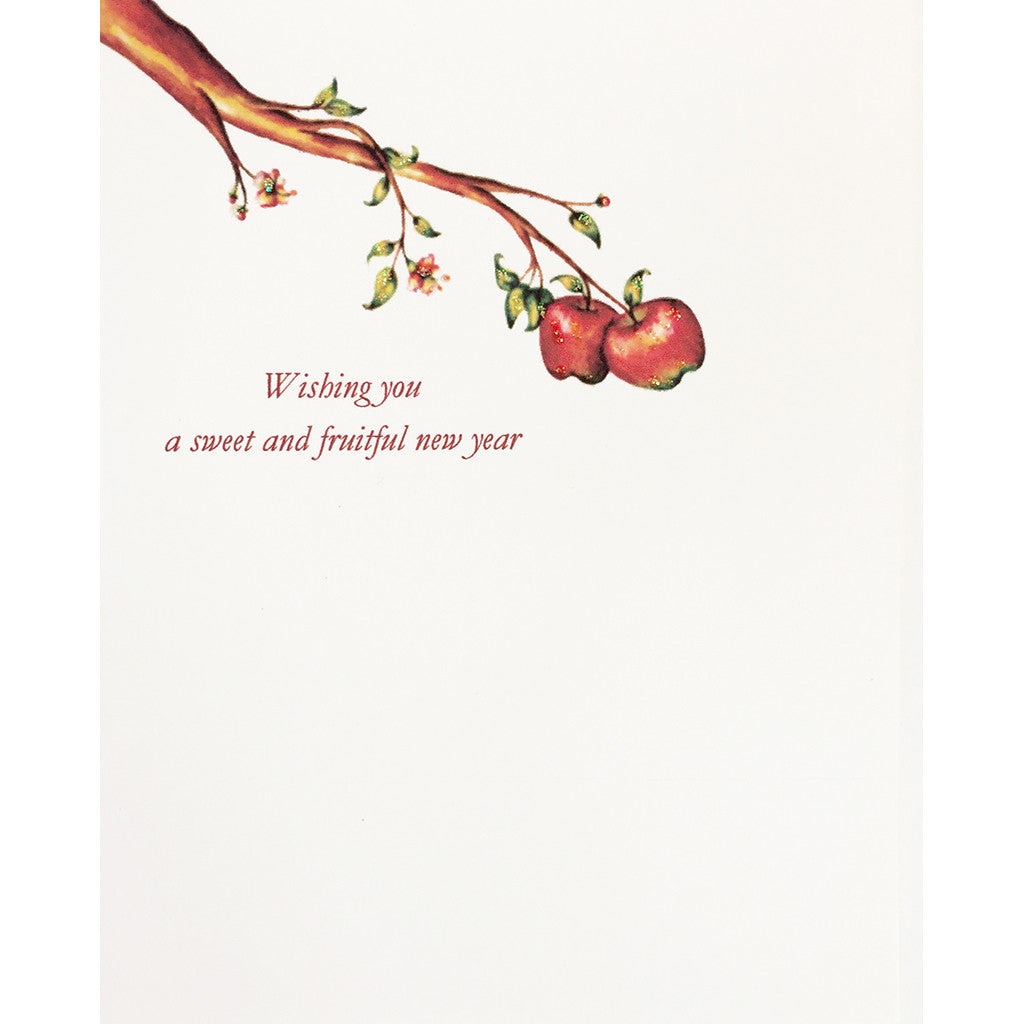 Greeting Card Apple Tree Shana Tova - Lumia Designs