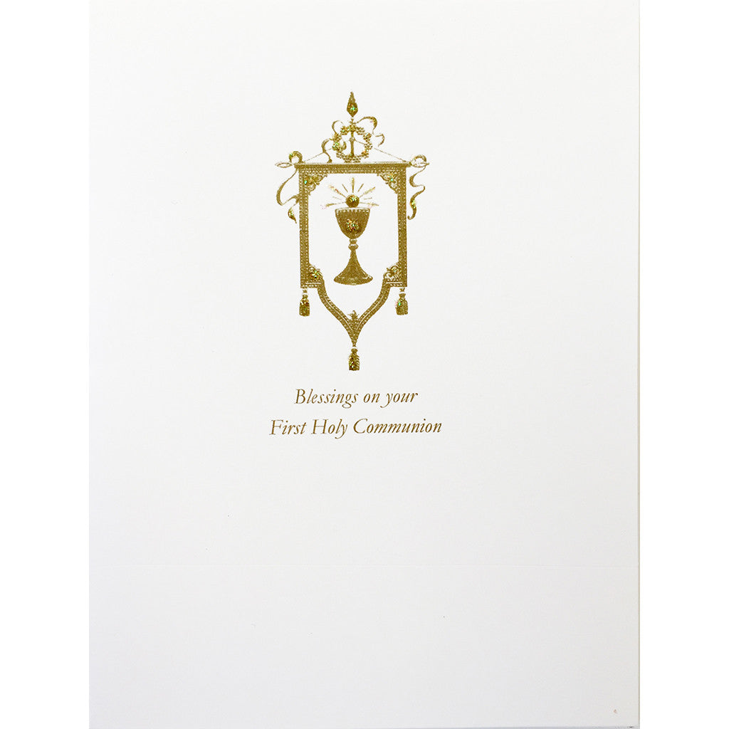 Greeting Card First Holy Communion - Lumia Designs
